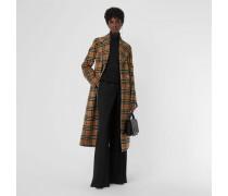 Eleganter Mantel aus Alpakawolle