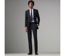 Anzug in klassischer Passform aus Wolltwill