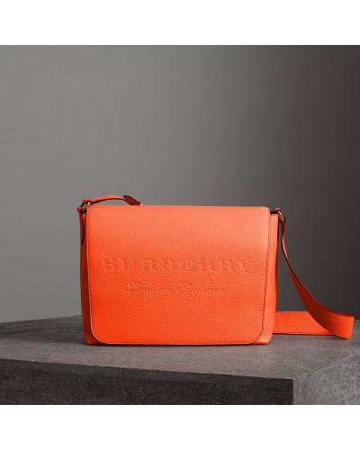 Burberry Damen Große Messenger-Tasche aus Leder Rabatt Visum Zahlung BRb4keqg87