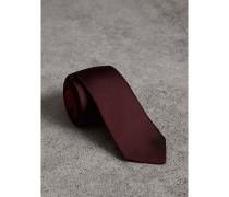 Schmal geschnittene Krawatte aus Seidentwill