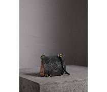 The Baby Bridle Bag aus Leder und Haymarket Check-Gewebe