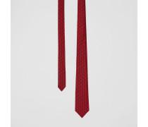 Klassische Krawatte aus Seidenjacquard