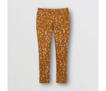 Skinny-Jeans aus japanischem Stretchdenim