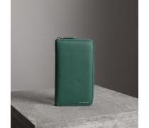 Brieftasche aus genarbtem Leder