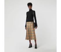 Kilt aus Wolle in Vintage Check