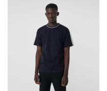T-Shirt aus Baumwolle mit Banddetail