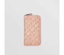 Brieftasche aus perforiertem Leder
