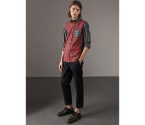 Oxford-Hemd aus Baumwolle mit Schottenmuster