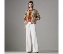 Harrington-Jacke im Rainbow Vintage Check-Design