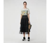 Oversize-T-Shirt mit Vintage-Aufdruck
