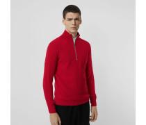 Pullover aus Rippstrick-Kaschmir