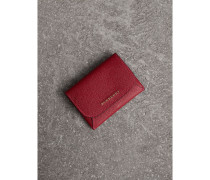 Münzbörse aus Leder mit herausnehmbarem Kartenetui