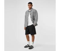 Elegante Shorts aus Baumwolltwill