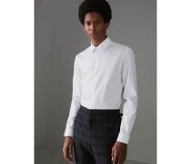 Modern geschnittenes Baumwollhemd