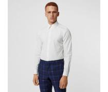 Körperbetontes Hemd aus Baumwollpopelin
