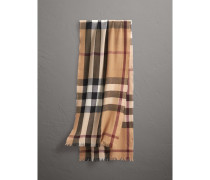 Leichter Schal aus Wolle und Kaschmir