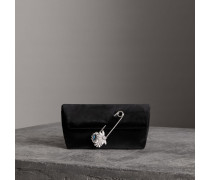 The Small Pin Clutch aus Samt