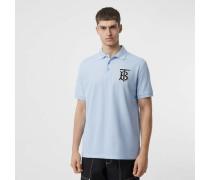 Oversize-Poloshirt aus Baumwollpiqué