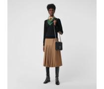Pullover aus Merinowolle mit Vintage Check-Detail