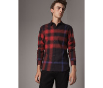 Hemd aus Baumwollflanell