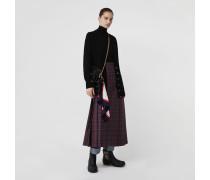 Langer Kilt aus Wolle mit Schottenmuster