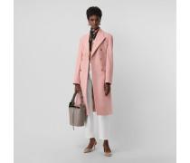 Eleganter zweireihiger Mantel aus Wolle