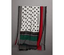 Schal aus Baumwollseide