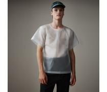 T-Shirt aus Plastik mit weichem Finish