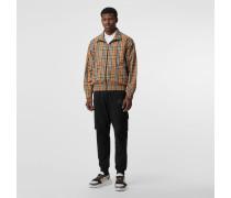 Leichte Jacke im Vintage Check-Design