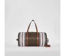 Mittelgroße Barrel Bag aus Eco-Canvas