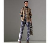Bluse aus Baumwollseide