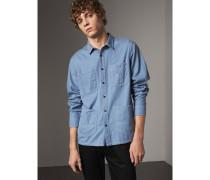 Hemd im Workwear-Stil aus japanischem Denim