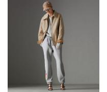 Pullover in einer Neuauflage aus Lammwolle und Baumwolle