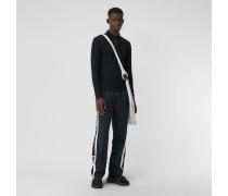 Langärmeliges Poloshirt aus Baumwollpiqué