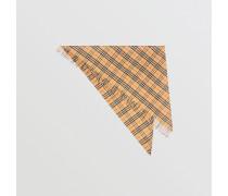 The Bandana aus Kaschmir mit Vintage Check-Muster