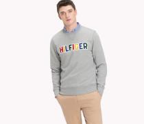 Pullover mit buntem Logo