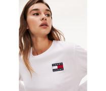 Langarmshirt aus Recycling-Baumwollmix
