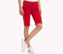 Skinny Fit Bermuda-Shorts