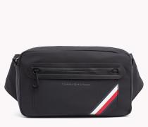 Crossbody-Tasche mit Streifen