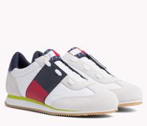 90s Sneaker aus Wildleder