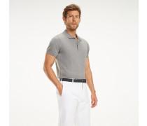 Slim Fit Polohemd aus Pima-Baumwolle