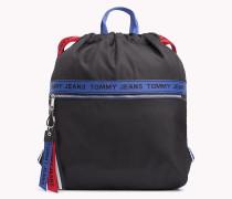 Rucksack mit Tommy-Hilfiger-Logo-Tape