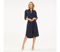 Essential Midi-Hemdkleid aus Bio-Baumwolle