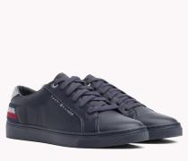 Essential Metallic Sneaker mit Tommy-Streifen