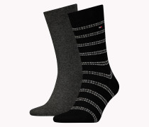 TH MEN CORD SOCK 2P