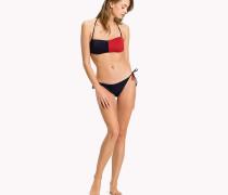 Trendige Bikinihose mit seitlichen Bindebändern