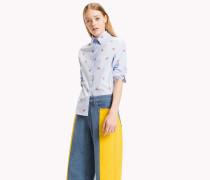 Hemd aus Baumwoll-Popeline