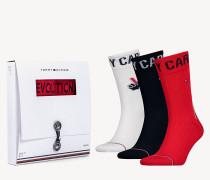 3er-Pack Tommy Cares Unisex Socken
