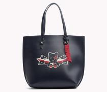 Gestreifte Tote-Bag