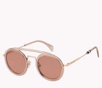 Runde Aviator-Sonnenbrille